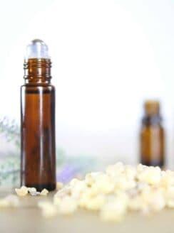 clear skin roller bottle