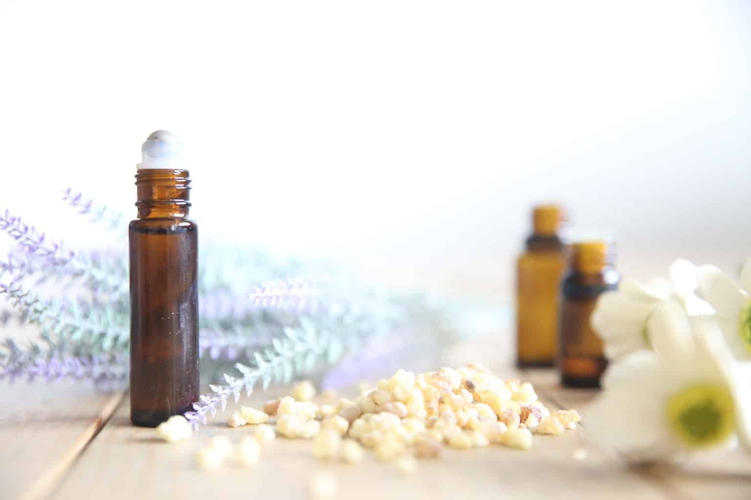 Teething essential oil roller bottle