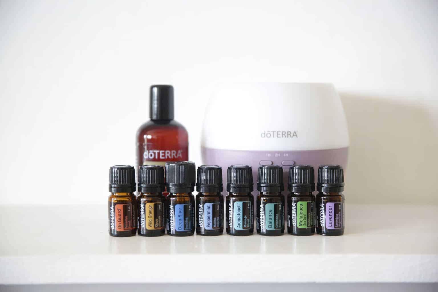 doterra essential oil enrollment kit