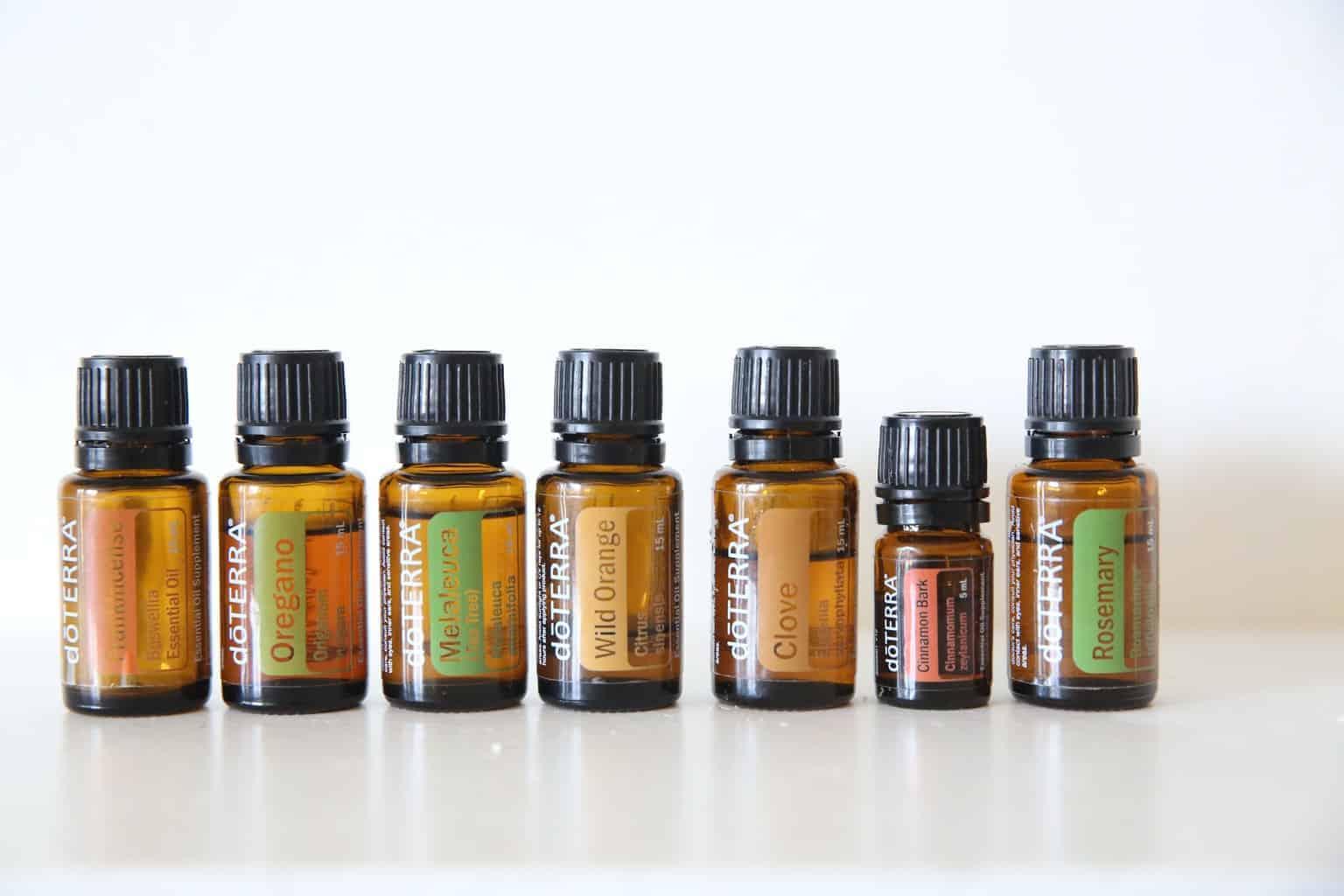 doterra's immune boosting essential oils.