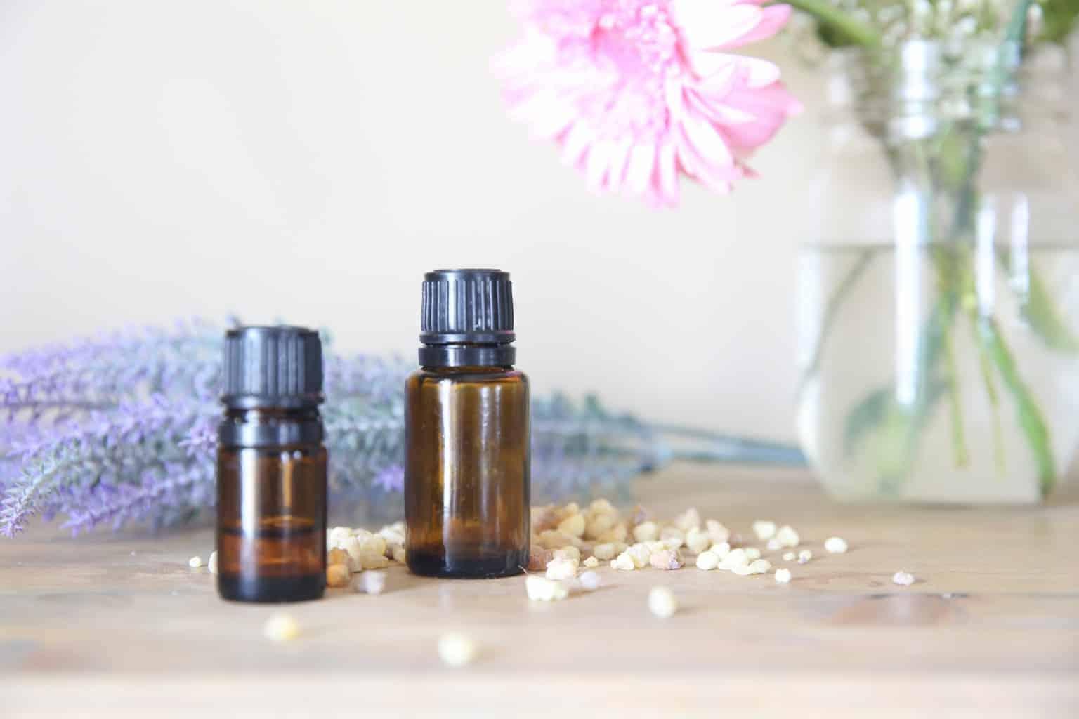 Essential Oils for Postpartum in 15ml glass bottles
