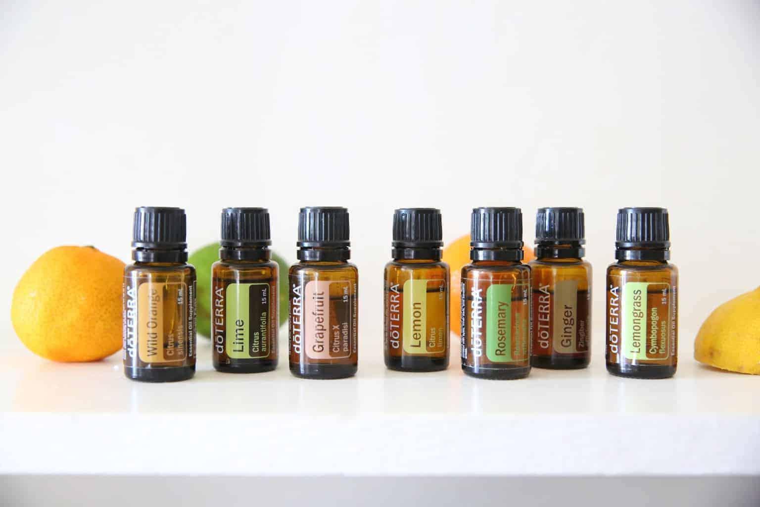 doTERRA oils for boosting energy