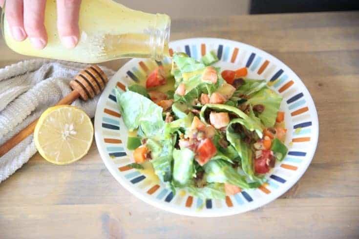 Lemon Honey Mustard | Paleo Dressing or Dipping Sauce
