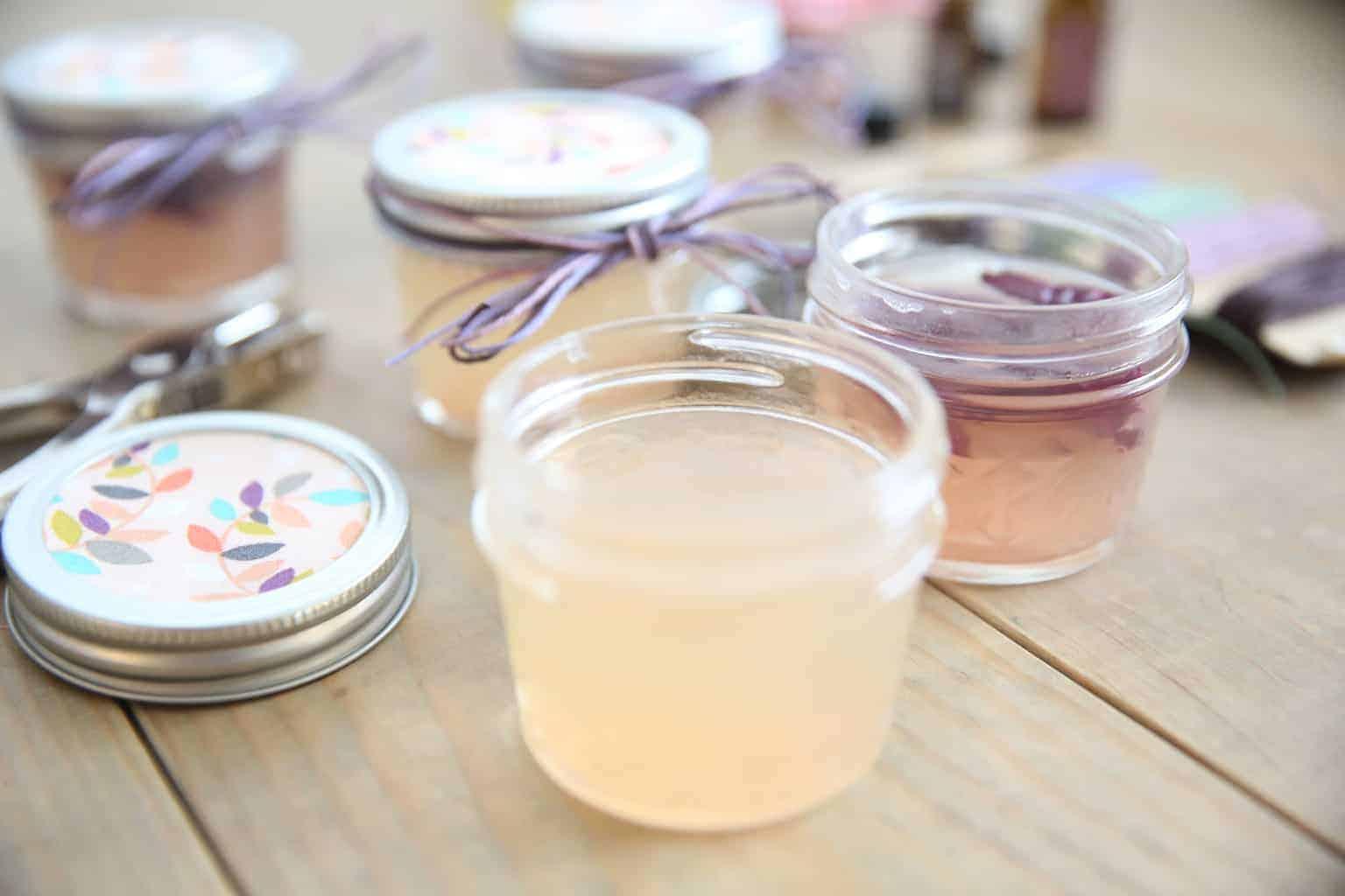 Toxic-free homemade gel air freshener.