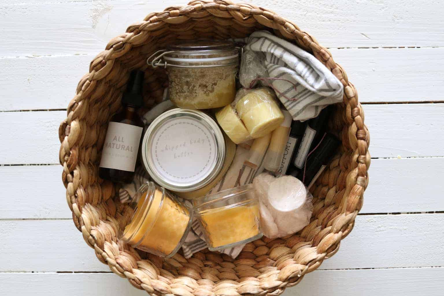 All-natural homemade gifts.