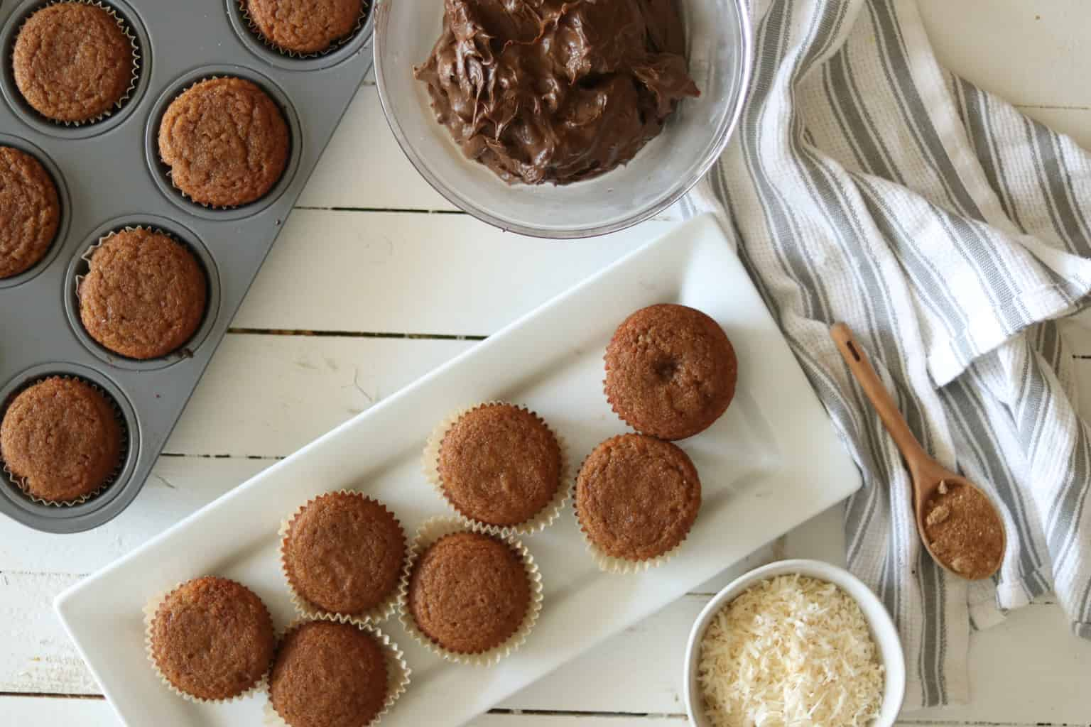 fresh baked paleo approved cupcakes