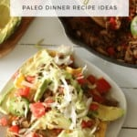 Easy Healthy One Pot Meal Mexican   Paleo Dinner Recipes