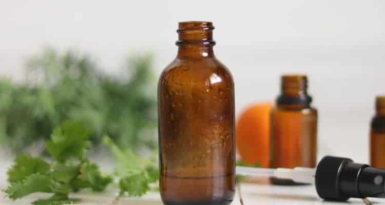 essential oil spray bottle