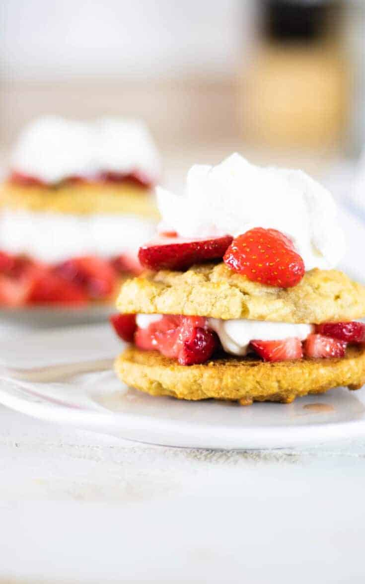 Healthy Strawberry Shortcake | Real Food Desserts