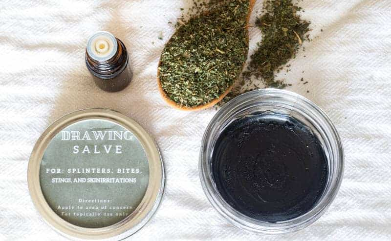 draw salve printable label