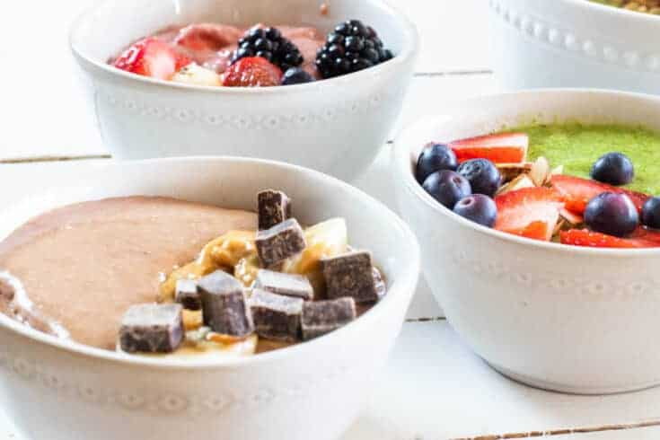 5 Healthy Smoothie Bowl Recipes
