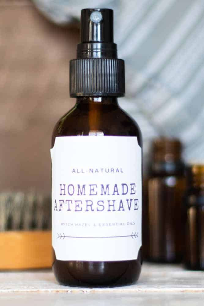 Aftershave for Razor Burn Remedy