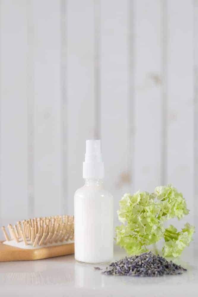 homemade conditioner spray
