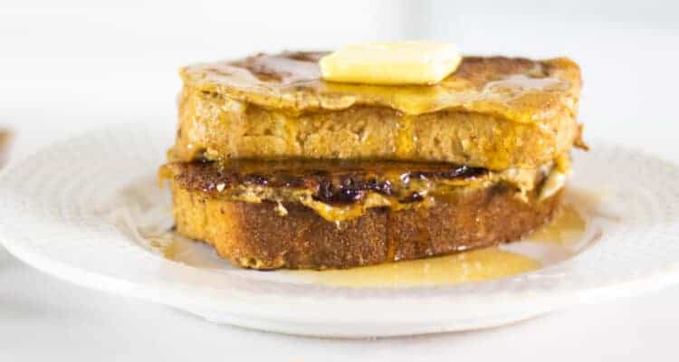 thick sliced sourdough French toast