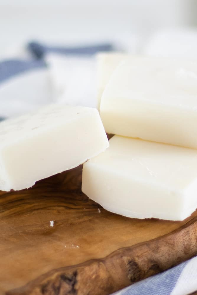 cold process tallow soap bars