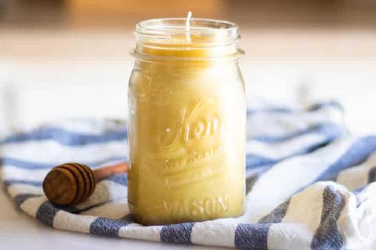 Easy Honey Vanilla Candle Recipe