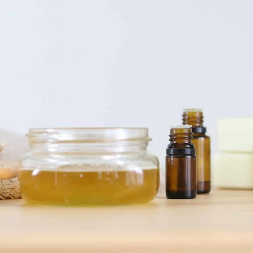 Learn how to make a simple homemade conditioner recipe with all natural ingredients and essential oils.