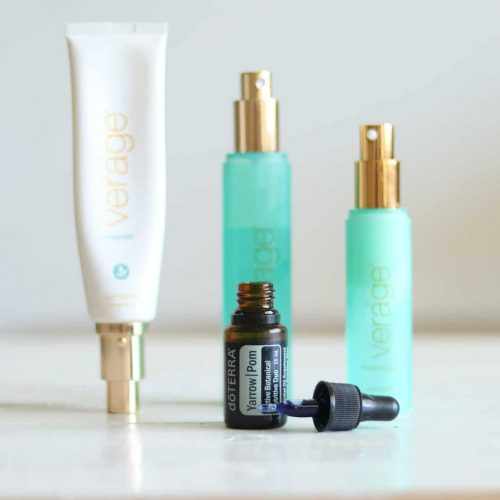 Come along to watch my daily essential oil routine using the doterra verage skin care line and Yarrow pom essential oil.